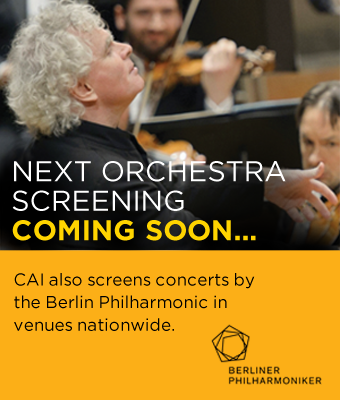 Berliner Philharmonic - next orchestra screening coming soon . .