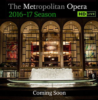 Met opera live in 25 Irish venues 2015 - 2016