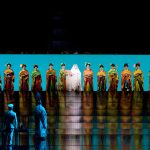 "A scene from Act I of Puccini''s ""Madama Butterfly"""